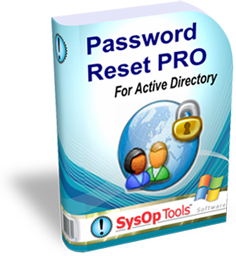 User Self Service password management software - Web Based - Password Reset PRO for Active Directory