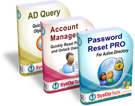 Web based password self service reset software and user account management