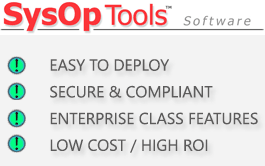 SysOp Tools Inc. Software for Active Directory